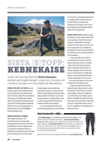 Page 24 of Sista (s)topp: Kebnekaise