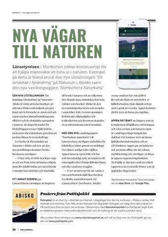 Page 26 of Nya vägar till naturen
