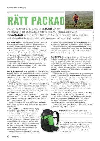 Page 64 of Rätt packad
