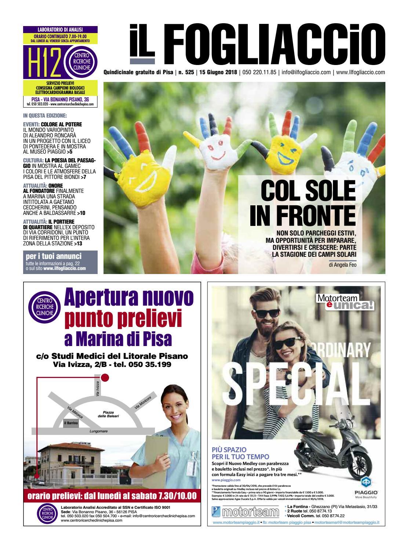fe81a20337 edizione 525 del 15 Giugno 2018 by Il Fogliaccio - issuu