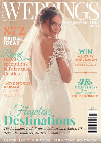 dde4f5e6010 March   April 2018 by Destination Weddings and Honeymoons Abroad - issuu