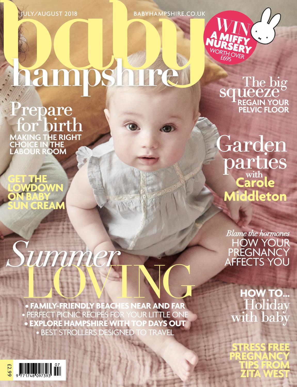 42368438be6f Baby Hampshire July August 2018 by The Chelsea Magazine Company - issuu