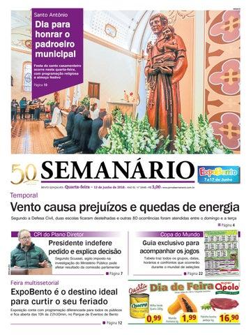 ba33092fe Texto e fotos  Ativa Assessoria Jornal Semanário – 13 de junho de 2018 –  Ano 51 – Nº 3445 by Jornal Semanário - Bento Gonçalves - RS - issuu