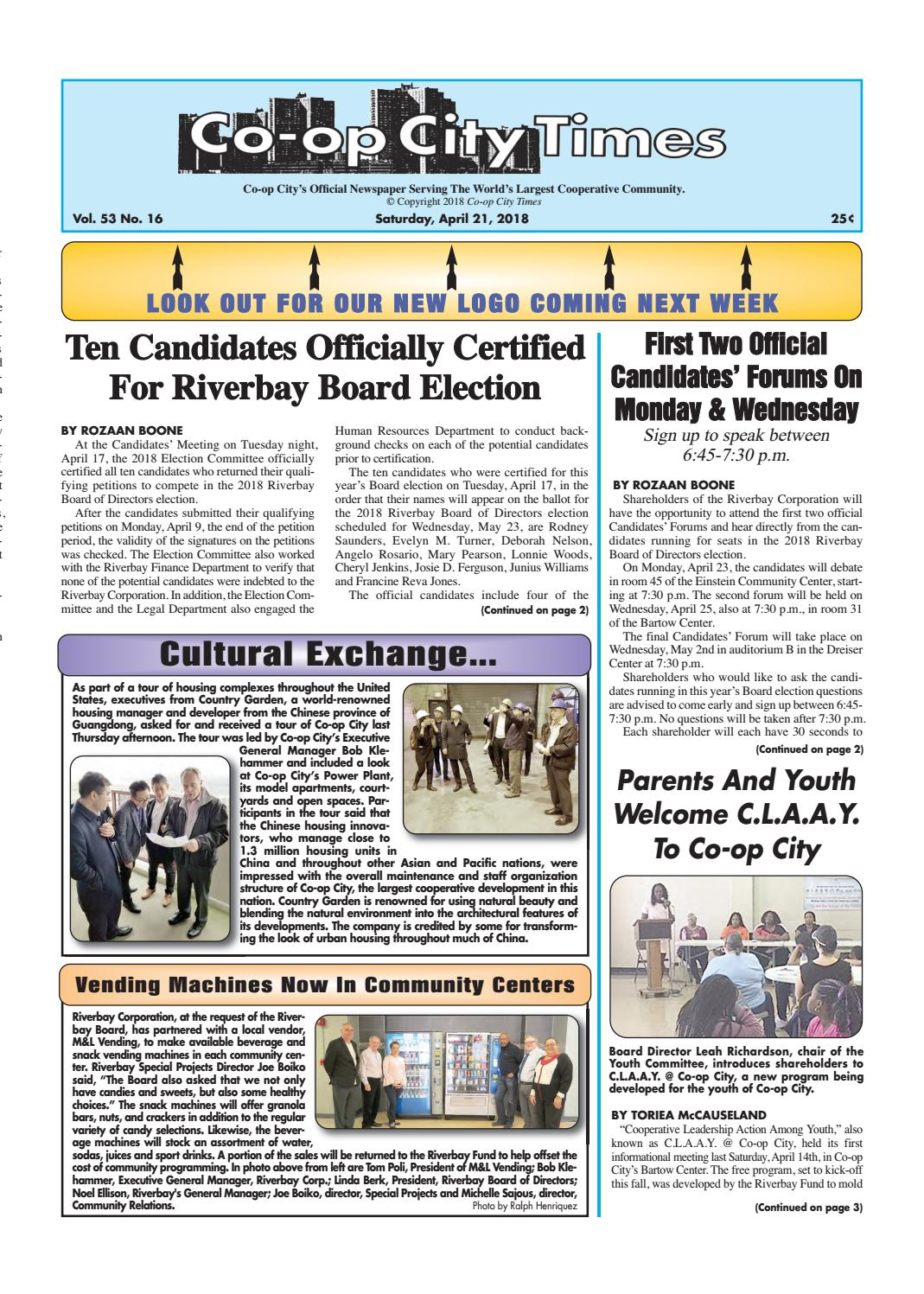 Co-op City Times 04/21/18 by Co-op City Times - issuu