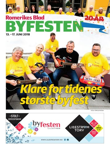 38c941963 Romerikes Blad Byfesten by Amedia Annonseproduksjon AS - issuu