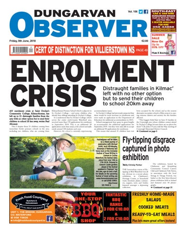 3c8bfb2681231 Dungarvan observer 8 6 2018 edition by Dungarvan Observer - issuu