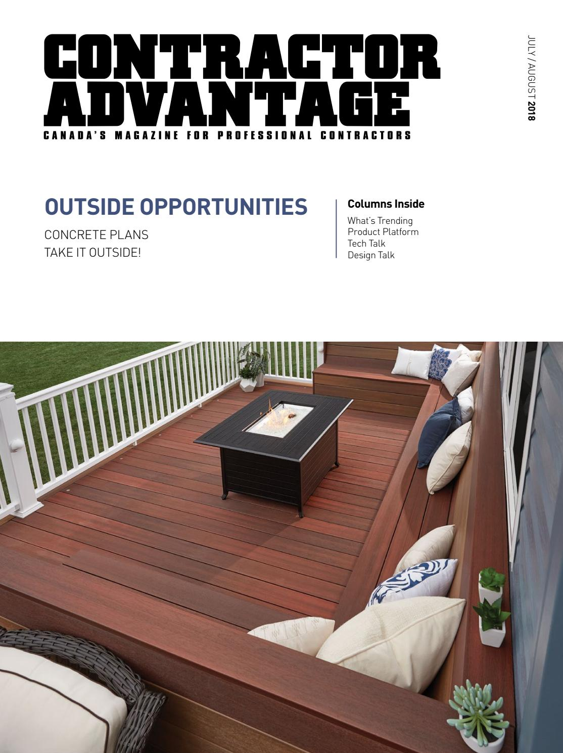 Contractor Advantage July August 2018 By Espress Labs Inc Issuu