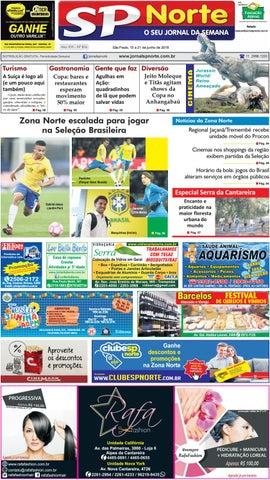 Edição 816 - 15 a 21 de Junho de 2018 by Jornal SP Norte - issuu 92a1588945