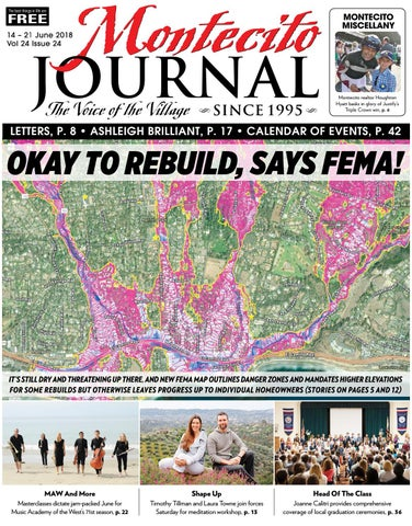5fe23ff2c41b7 Okay to Rebuild, Says Fema by Montecito Journal - issuu