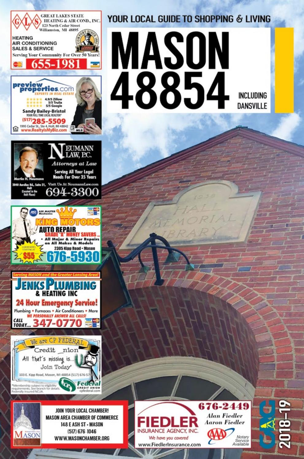 Total Local 2018-19 Mason MI Community Resource Guide by Total Local - Issuu