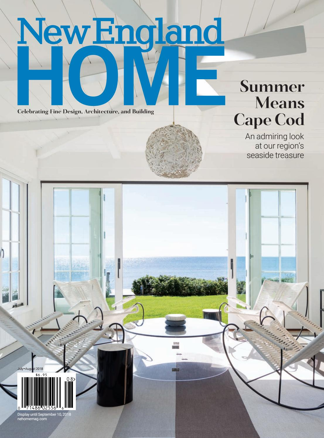 New England Home July August 2018 By New England Home Magazine Llc Issuu