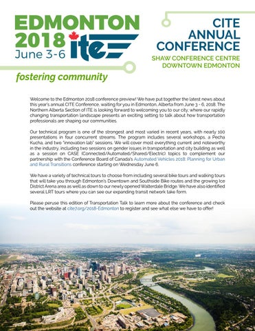 Page 16 of CITE 2018 Annual Conference Preview