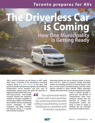 Page 41 of The Driverless Car is Coming: How One Municipality is Getting Ready