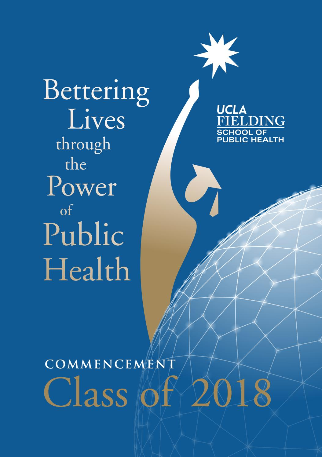 2018 Ucla Fsph Commencement Ceremony By Ucla Fielding School Of