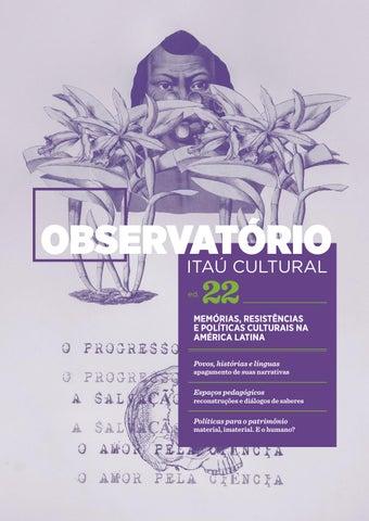 98914fe17a2 Observatório 22 - Memórias, Resistências e Políticas Culturais na América  Latina