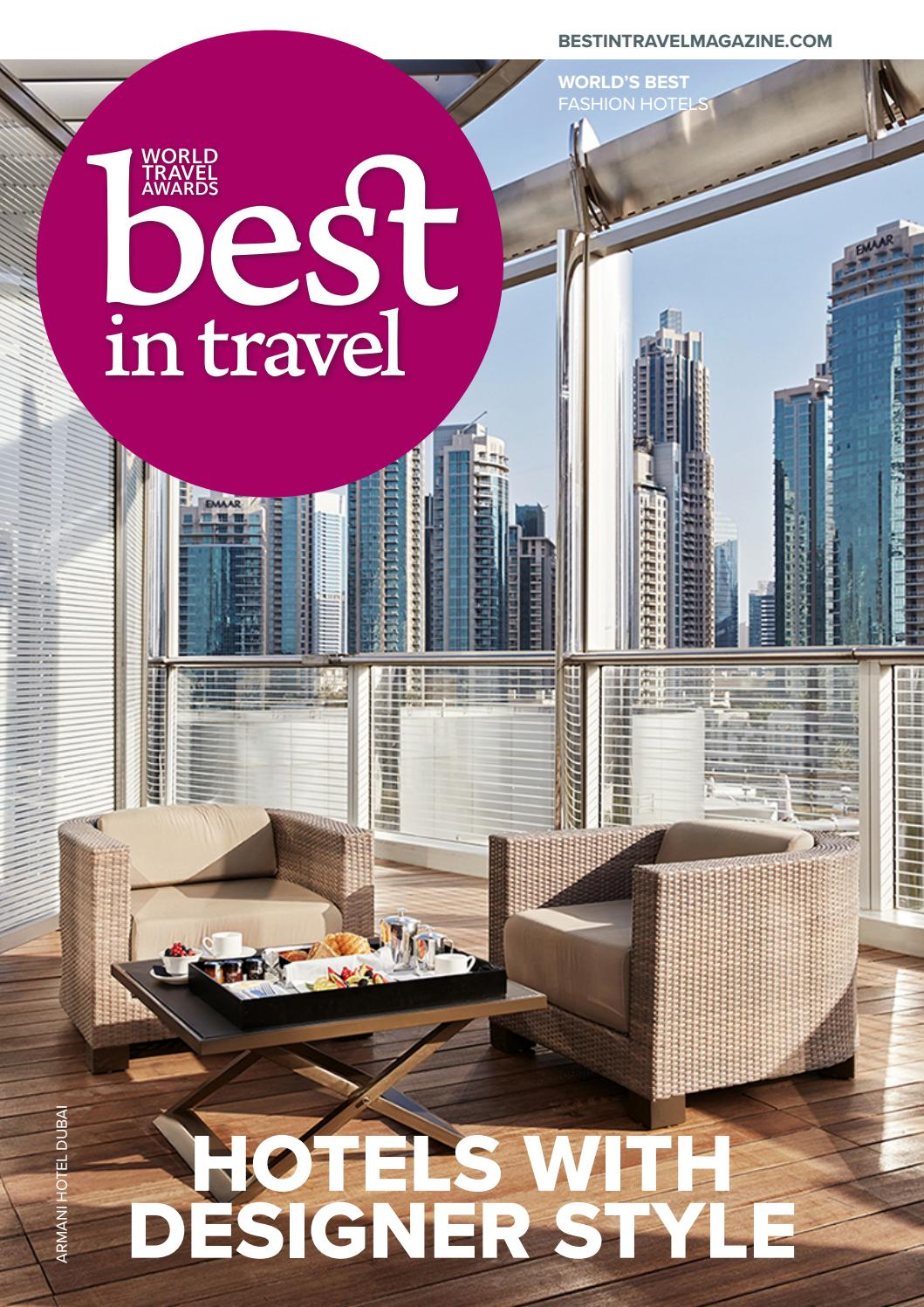 ffa5905d Best In Travel Magazine Issue 67 // 2018 // Discover Hotels with designer  style by Best in Travel Magazine - issuu