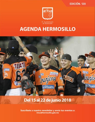 "Cover of ""Agenda Hermosillo 15 jun 2018"""