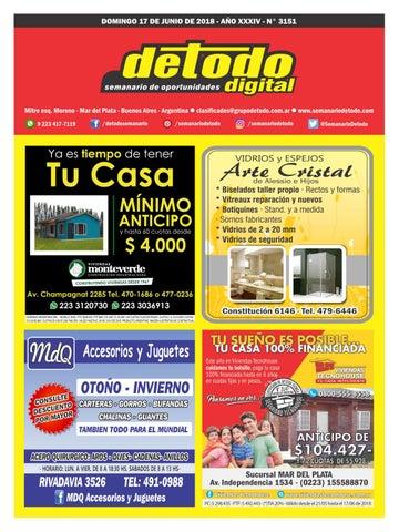 a363d6ca6a99e Semanario Detodo Digital - Edición N° 3151 - 17 06 2018 by Semanario ...