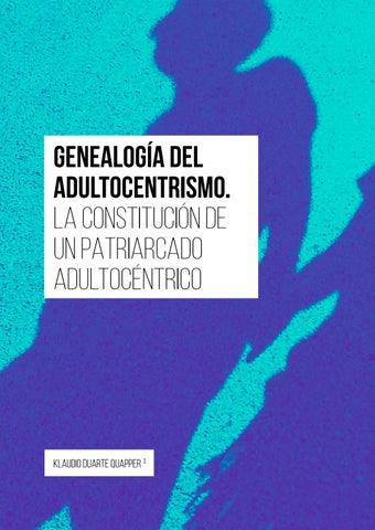 Page 46 of Genealogía del adultocentrismo. La constitución de un patriarcado adultocéntrico