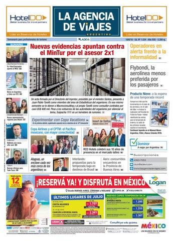 La Agencia de Viajes Argentina Nª 1.524 by Ladevi Media   Solutions ... 02de114b12