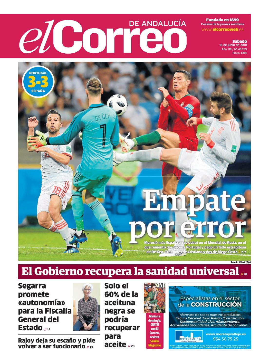 E S De lIssuu 16 06 2018 Andalucía By Correo El SUMVzp