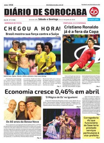 Sábado, 16 de junho by DIÁRIO DE SOROCABA - issuu 8cc2120e5d