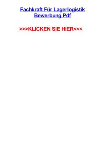 fachkraft fr lagerlogistik bewerbung pdf klicken sie hier - Fachkraft Fur Lagerlogistik Bewerbung