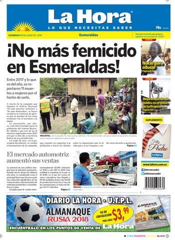bebc9dc41 Esmeraldas 17 junio 2018 by Diario La Hora Ecuador - issuu