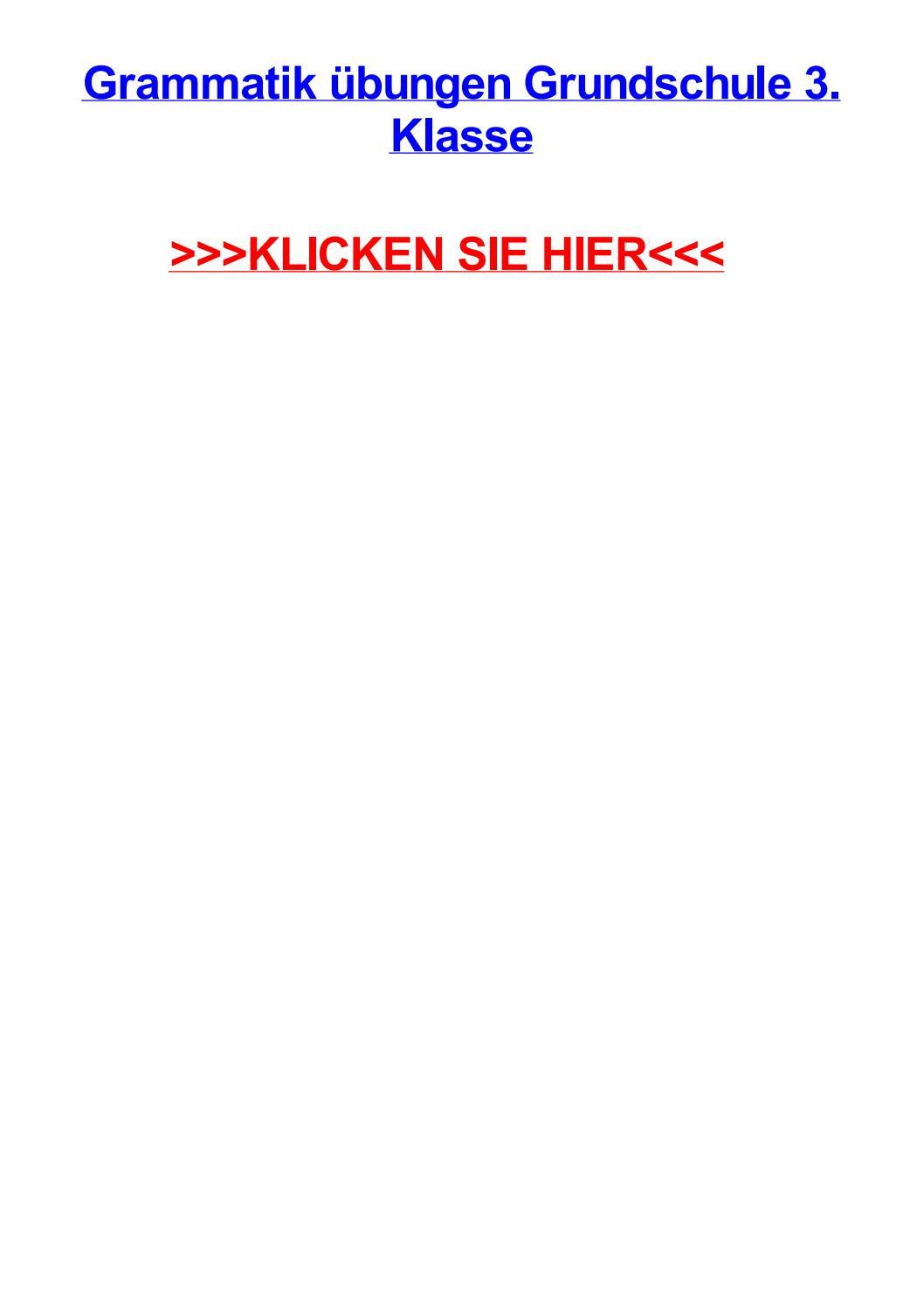 Grammatik jbungen grundschule 3 klasse by kellyfcja - issuu