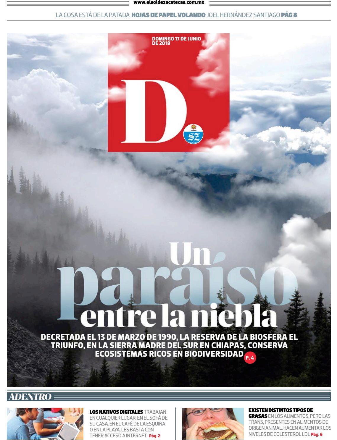 Dominical 17 de junio 2018 by El Sol de Zacatecas - issuu