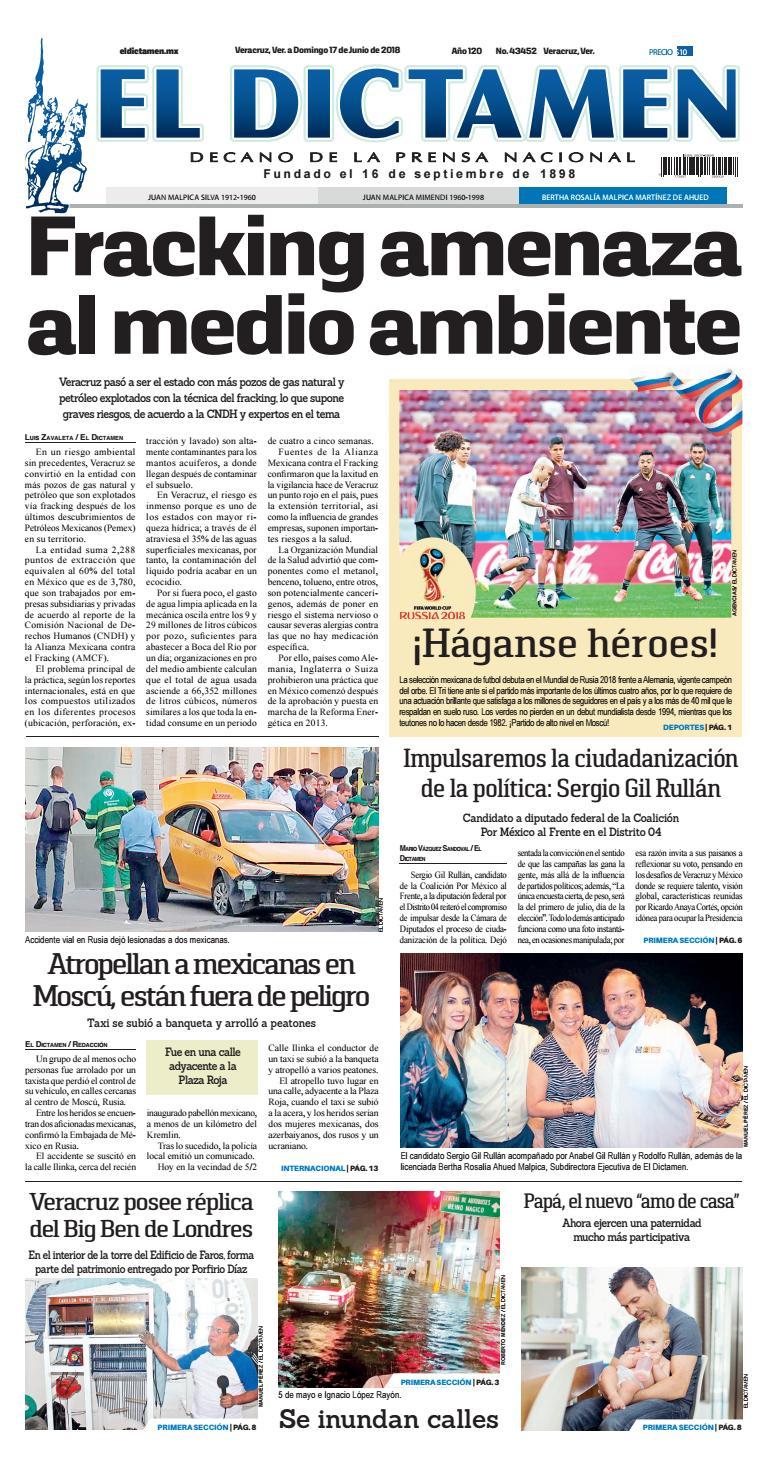 El Dictamen 17 de junio 2018 by El Dictamen - issuu