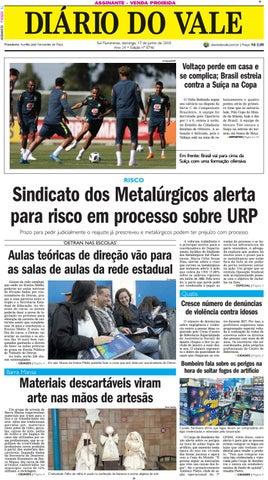 8746 diario domingo 17 06 2018 by Diário do Vale - issuu 138ba0a67ca50