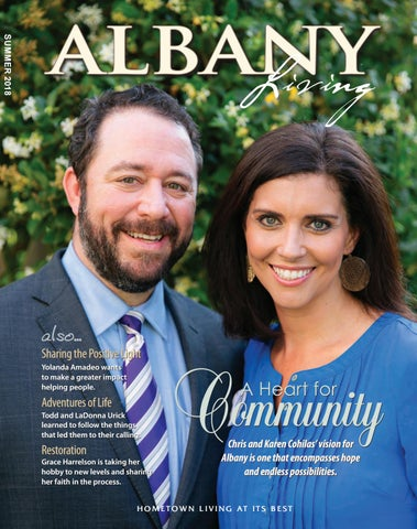 Albany Living Magazine - Summer 2018 by With You In Mind