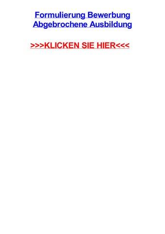 formulierung bewerbung abgebrochene ausbildung sehnde aufsatzrollladenkasten warema berlin - Formulierung Bewerbung