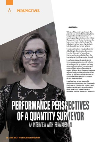 Page 20 of Performance Perspectives of a Quantity Surveyor