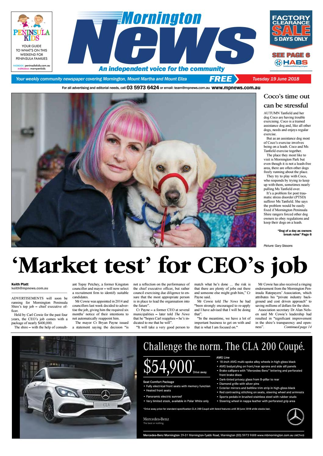 uk availability 0ca3e 8c9bc 19 June 2018 by Mornington Peninsula News Group - issuu