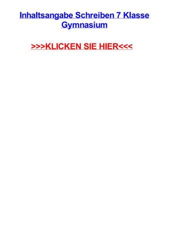 Aufsatz Deutsch Klasse 7 Gymnasium Catlux 0