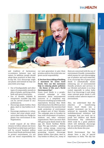 Page 15 of Discourage Single use plastic and instead use jute/cloth carry bags, insists Minister Dr Harsh Vardhan