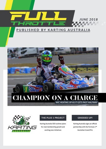 Full Throttle - March 2018 by Karting Australia - issuu