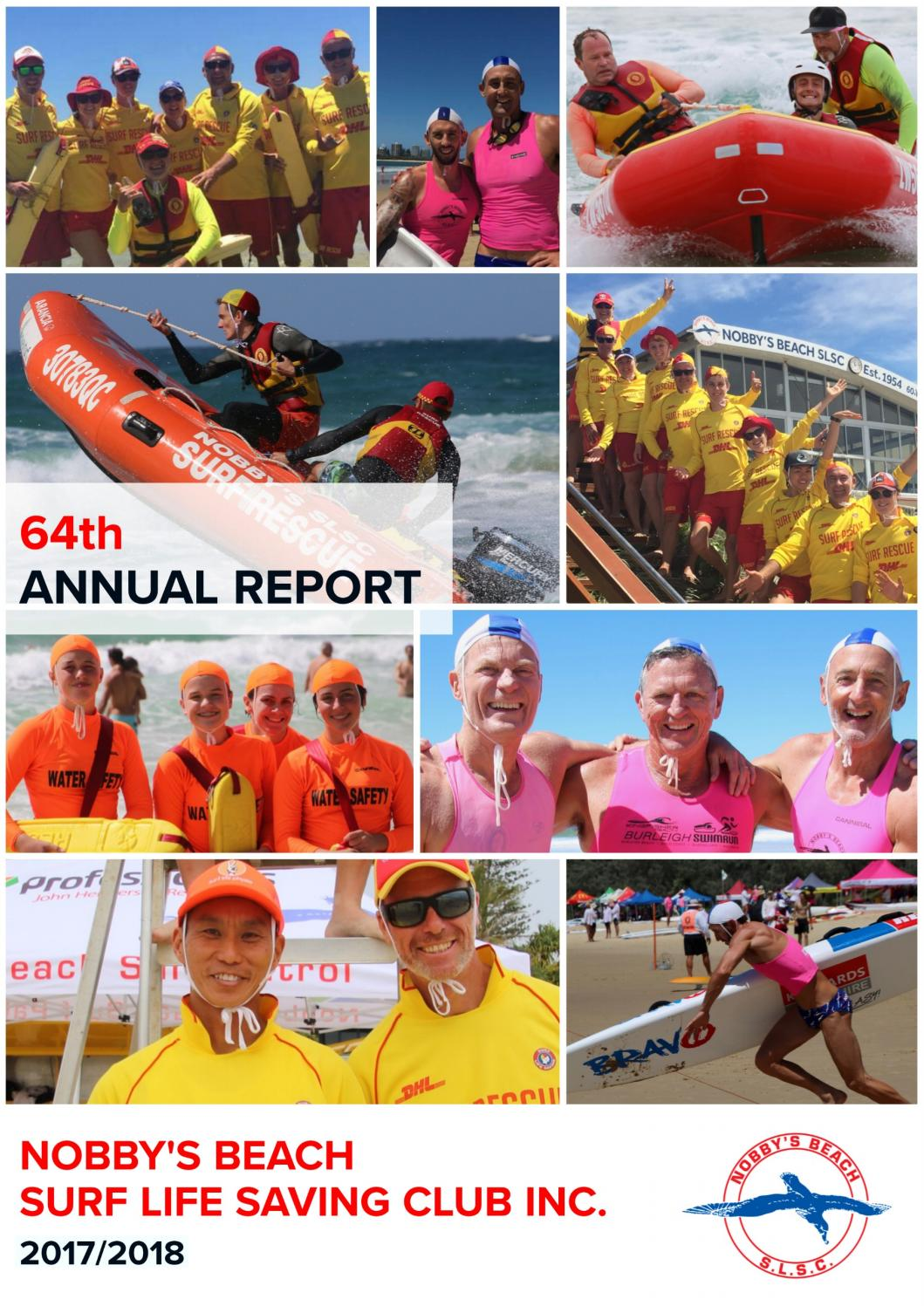 Nobby's Beach Surf Life Saving Club Annual Report 2017/18 by Nobby's