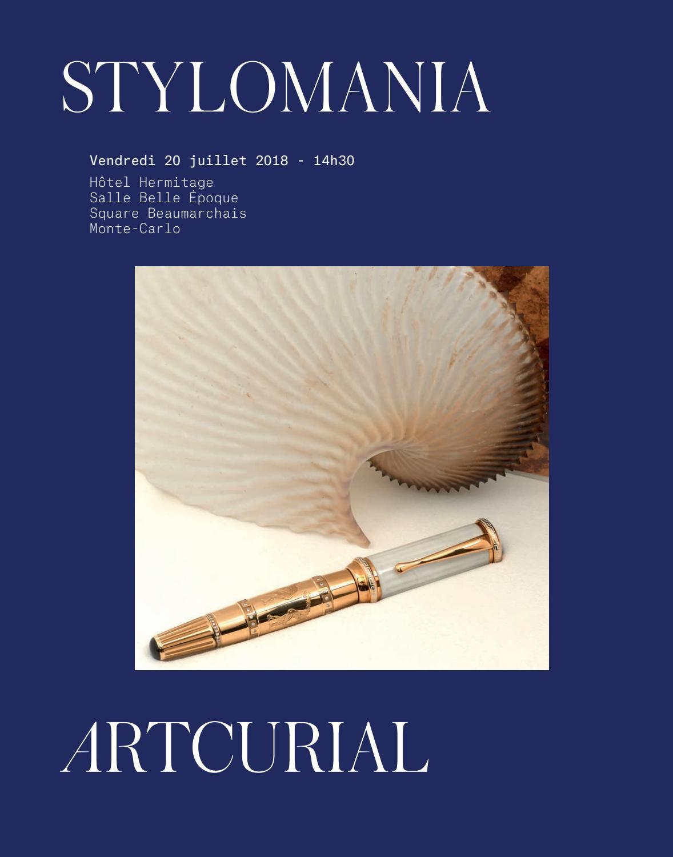 Michel Audiard Sculpteur Stylo stylomaniaartcurial - issuu