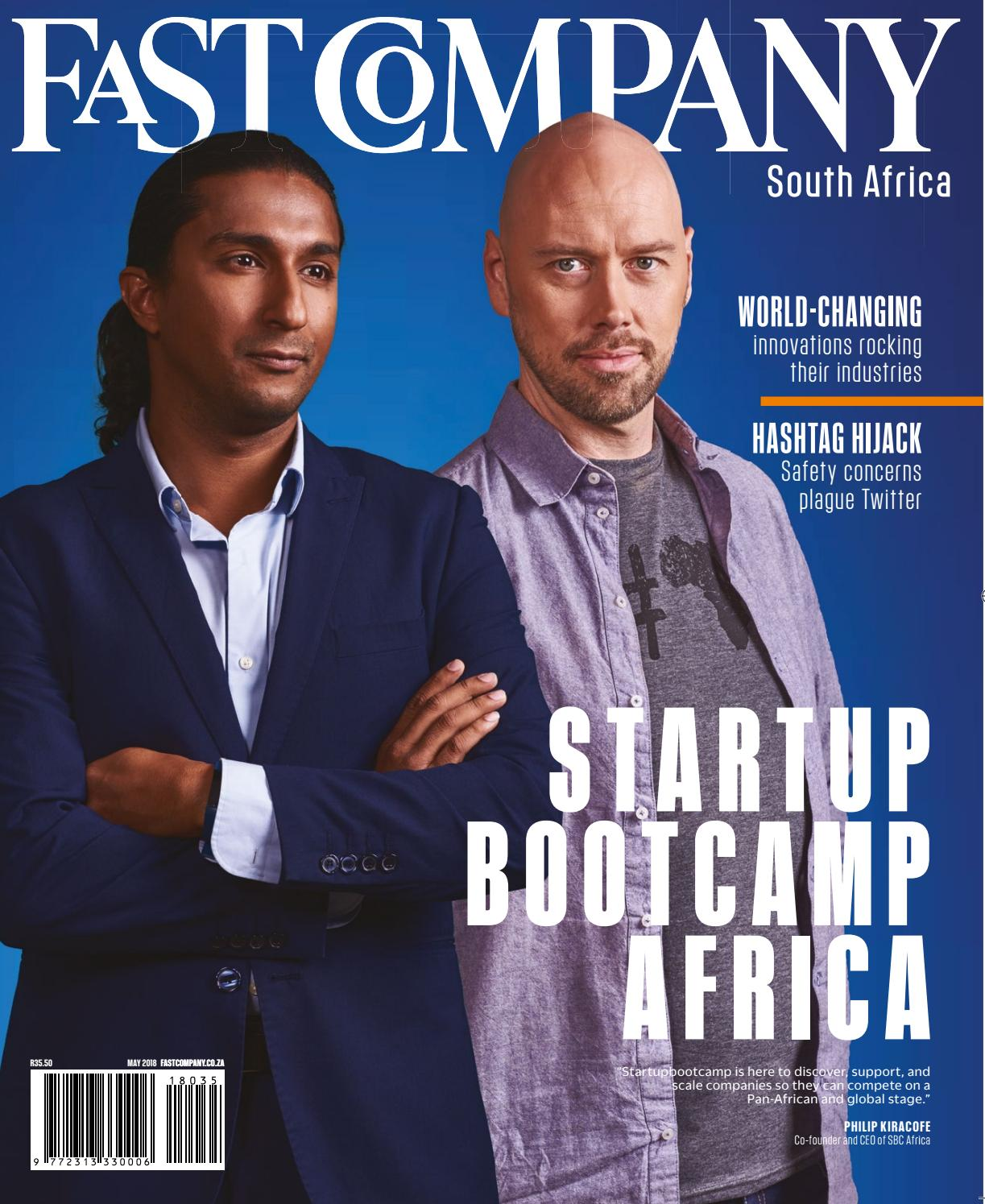 cca406bdb3f0 Fast Company SA - May 2018 issue 35 by Fast Company SA - issuu