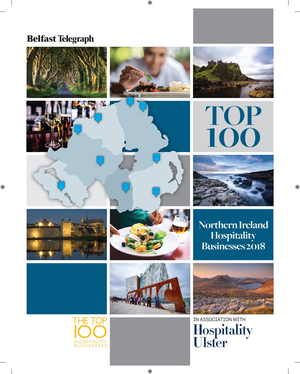 Top 100 Northern Ireland Hospitality Businesses 2018 by Belfast ...