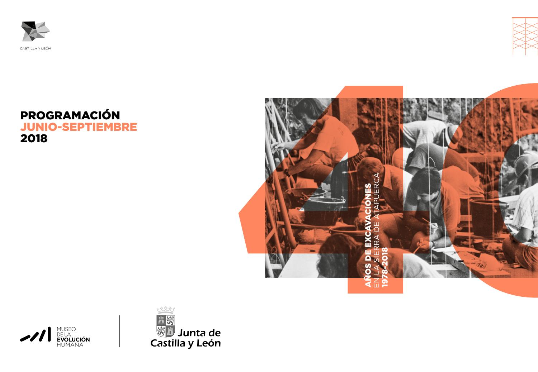 Programación del Museo de la Evolución Humana (junio-septiembre 2018) by museo  de la evolución MEH - issuu aa96d32d81c