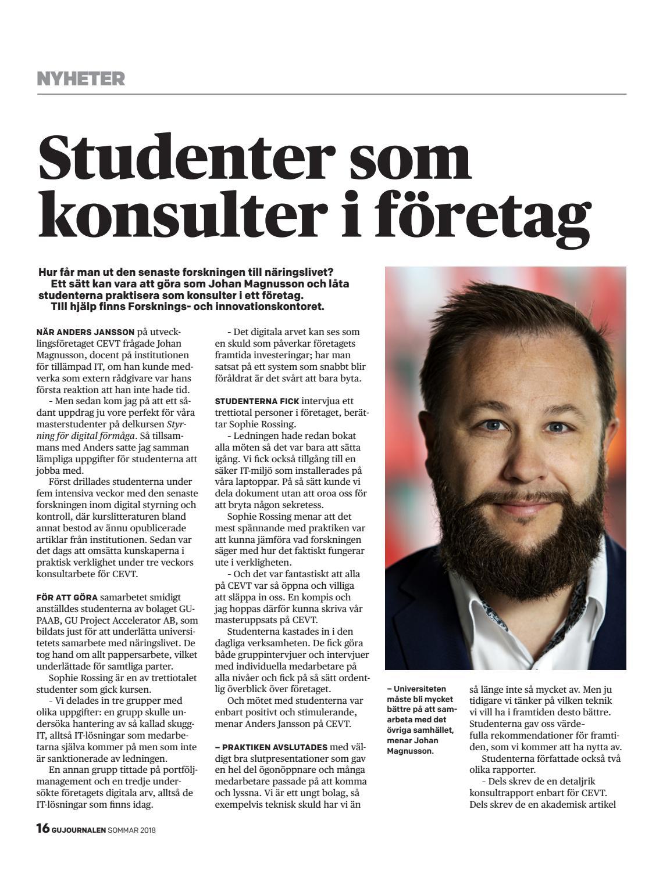 GU Journalen 3-2018