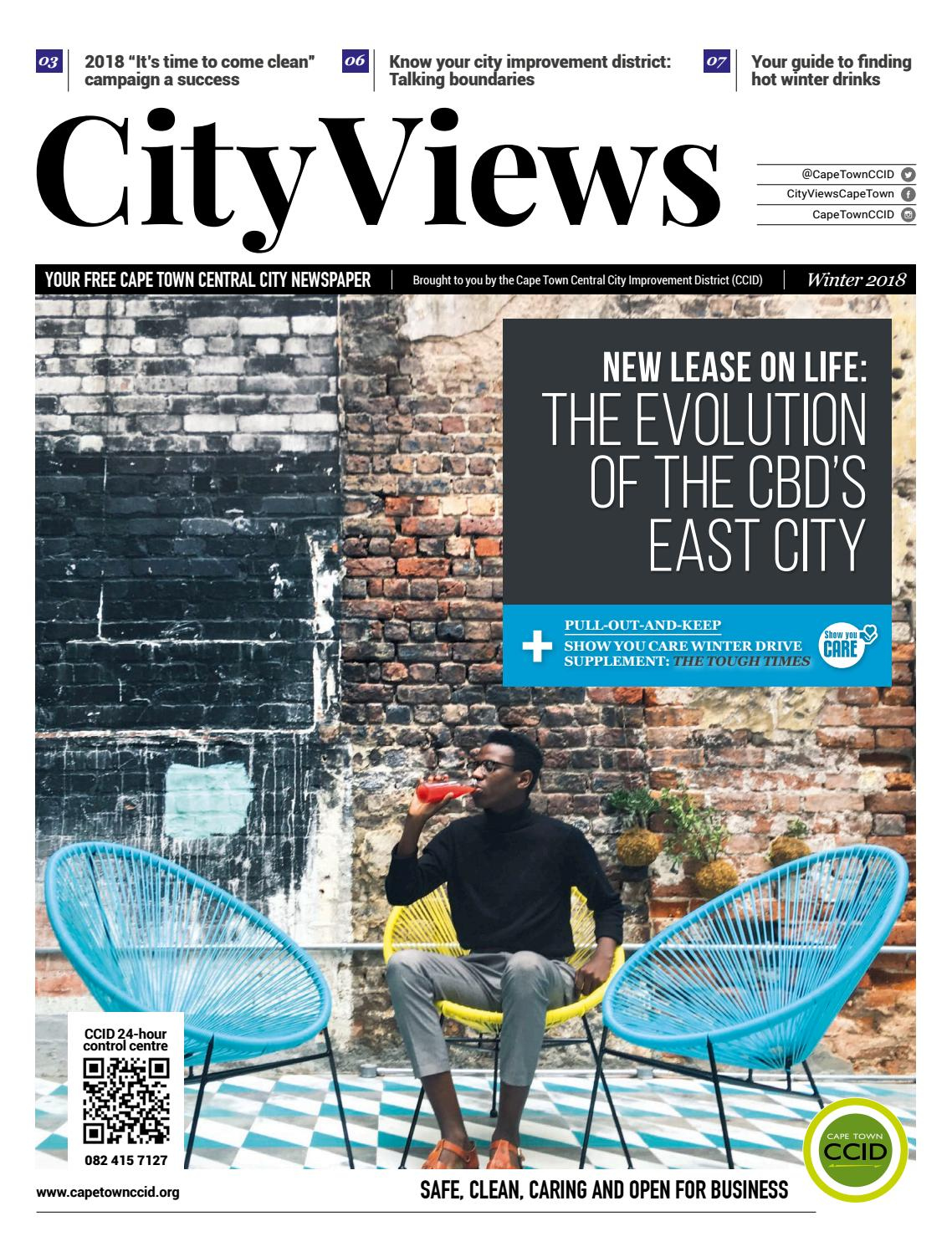 City Views Winter 2018 by Cape Town Central City Improvement