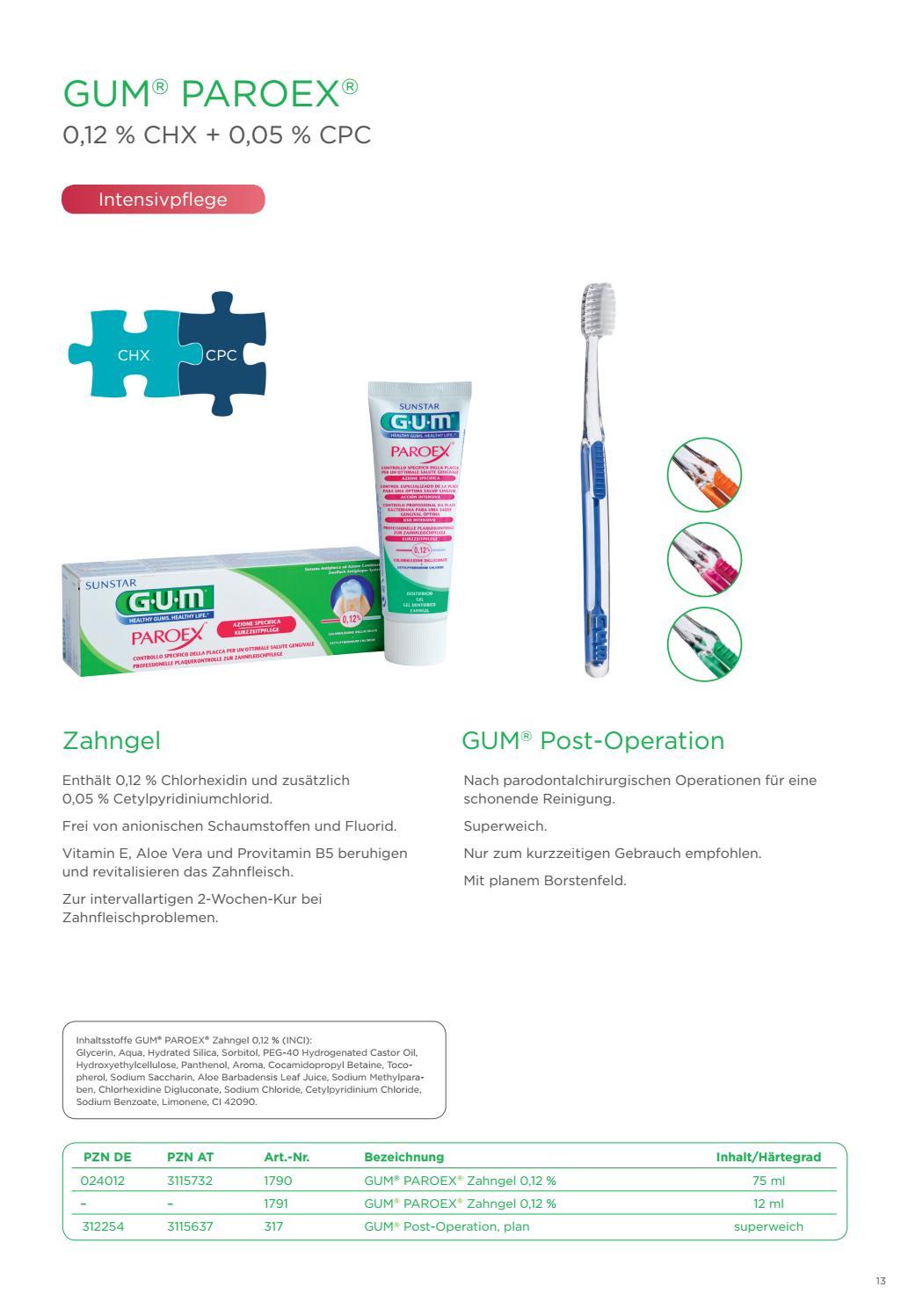Sunstar Gum Produktkatalog 05 2018 By Tandem Kommunikation Gmbh Issuu Nr Kur Conditioner G Repairs Excessive