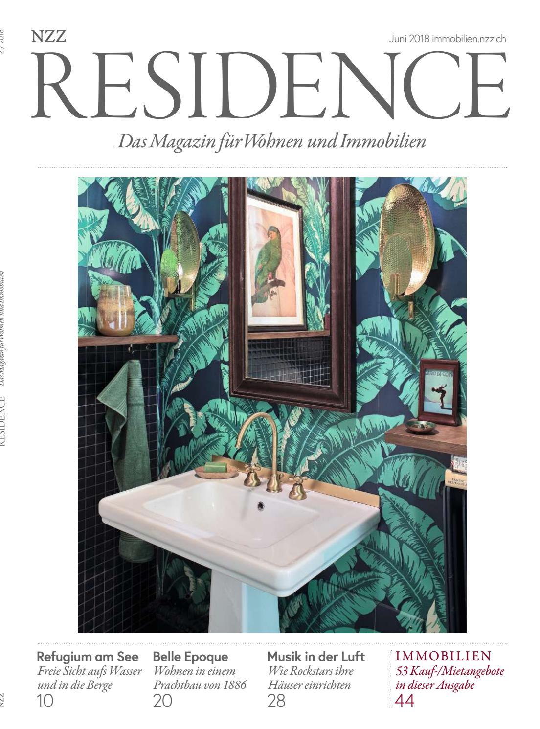 purismus wohnung mit eklektischer einrichtung, residence juni 2018 by nzz residence - issuu, Design ideen