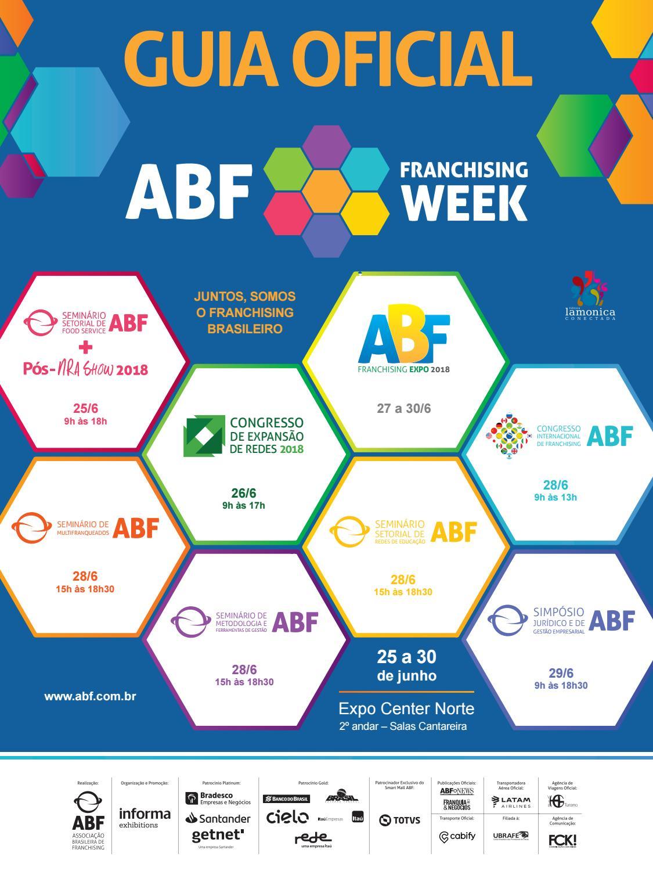 Guia ABF Franchising Week 2018 by Editora Lamonica Conectada - issuu 5bcde6b959
