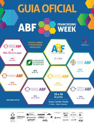 ff99b79e3 Guia ABF Franchising Week 2018 by Editora Lamonica Conectada - issuu